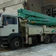 Услуги бетононасоса EVERDIGM36 RX на базе автомобиля MAN ТБА 33.350 фото