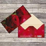 Конверт для денег «Прекрасная роза», 16,5 × 8 см фото