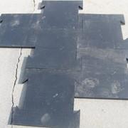 Монолитные резиновые плиты фото