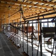 Пастбищная доильная установка летний лагерь. фото
