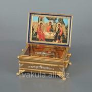 Ковчег для частиц святых мощей №14 золочение фото
