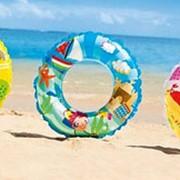 Круг для плавания 61см, 3 дизайна Intex 59242 фото