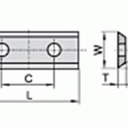 Сменные ножи с 2х сторонней заточкой 80×13×2,2 С 60 мм Ceratizit 80360069 фото
