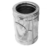 Ревизия дымоходная нерж/оцинк Версия Люкс D-230/300 толщ. 0,6 мм фото
