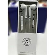 Mini Jack Наушники EARPHONES пластиковая коробка фото