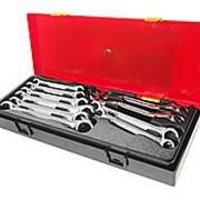JTC-K6102 Набор ключей разрезных евро-типа 10 предметов в кейсе JTC фото
