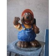 Скульптура Крот фото