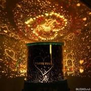 Романтический подарок на 14 февраля Ночник-проектор Любовь фото