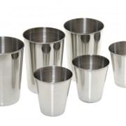 Набор стаканов из нержавеющей стали 60 мл, 150 мл фото