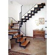 Лестницы сварные, перила, калитки фото
