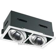Светодиодный встраиваемый направленного света Downlight aTAN 2x32W фото