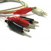 Шнур тестовый для плинта, 4 контакта с конектором 6P4C, 1,5м фото