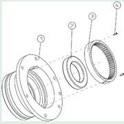 Корпус планетарного редуктора АКБ-4.30-40.10 фото