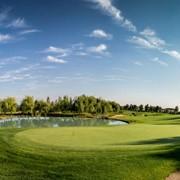 Обучение игре в гольф фото