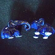 Сувенир Слоны держатся хоботами 4415 6,5х4 см. фото