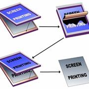 Трафаретная печать фото