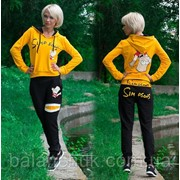 Спортивный костюм Simpson желтый Код: 121/ВР фото