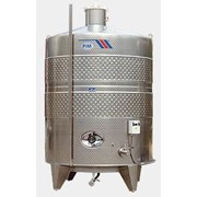 Вертикальный винификатор с рубашкой охлаждения для сбраживания вин, Италия 01 фото
