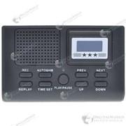 Цифровое устройство для записи телефонных разговоров с ж/к дисплеем, слотом для SD-карты + выход Aux фото