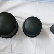 Буфер резиновый (тупик) фото