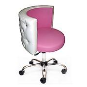 Кресло для клиента маникюра Зефирка со стразами фото