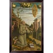 Картина Видение блаженного Габриеля, Кривелли, Карло фото