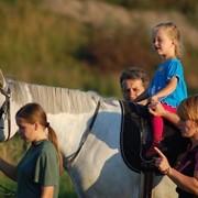 Иппотерапия, занятия с детьми фото