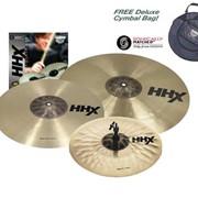 Комплект тарелок с чехлом Sabian HHX Performance Set фото