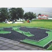 Модульная мини-гольф площадка фото