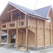Дома деревянные под заказ любой конструкции и сложности по Украине и России. фото