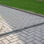 "Тротуарная плитка ""Кирпич "" для устройства дорожек,тротуаров фото"