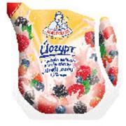 Йогурт питьевой 1.5% клубника Эколин 450 г фото