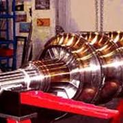 Проточка, шлифовка, восстановление шеек роторов; фото