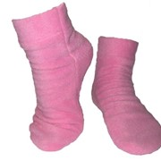 Носки флисовые розовые фото