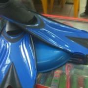 Ласты комбинированные (резина и пластик) фото