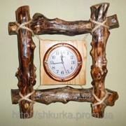 Часы из дерева ЧД 005 фото