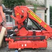Кран манипулятор грузоподемностю до 5,5 тонны. Palfinger 13500. Продажа кранов манипуляторов в Украине. фото