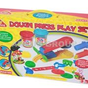 Пластилин-тесто Happy dough Пресс машина фото