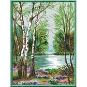 Набор для вышивки У реки КТК - 3085 фото