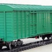 Вагоны грузовые крытые - аренда фото
