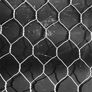 Сетка крученая 25х0.5 мм оцинкованная фото