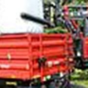 Прицеп тракторный одноосный T-703 г/п 3,5т. с надставными бортами 500/700 мм. (Metal Fach) фото