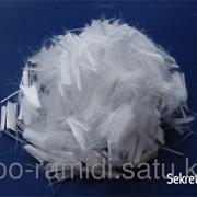 Полипропиленовая фибра 6мм-9мм фото