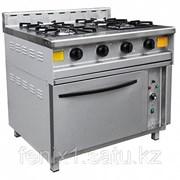 Плита газовая с духовкой ПГ-4Д (950х862х930 (950)  фото
