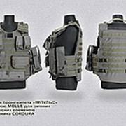 Чехол для бронежилета с системой molle ткань cordura фото
