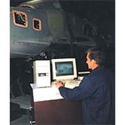 Проведение диагностики коммутационных бортовых систем самолета фото