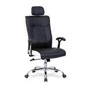 Кресло компьютерное Halmar COMET (черно-белый) фото