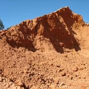 Песок на подсыпку производственный фото