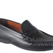 Туфли мужские 161-038, черный фото