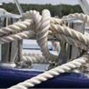 Веревочная продукция из полиамида, плетеная и крученая фото